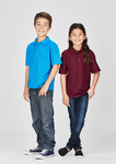Kids Biz Collection Pique Knit Polo