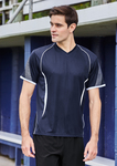 Men's Cooldry Razor V Neck Tee