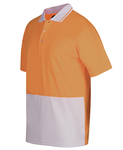 Hi Vis Non Cuff Traditional Polo