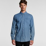 AS Colour Men's Blue Denim Shirt 5409