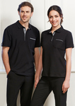 Biz Collection Men's Edge Polo