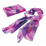Chiffon Scarf with Full Colour Printing
